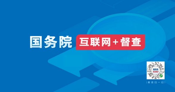 """国务院""""互联网+督查"""""""